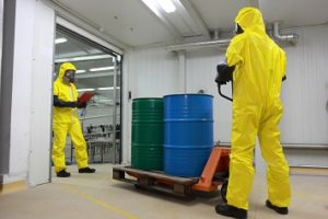 hazmat inspection/counting hazardous material generation