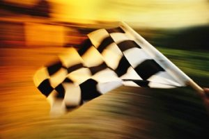 checkered flag car racing race